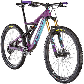 ORBEA Rallon M-Team MTB Fullsuspension violet/sort